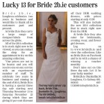 Lucky 13 - 3 Day Sale at Bride2b.ie
