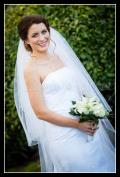 Sharon wears a wedding dress from Bride2b.ie Galway